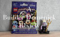 LEGO Ursula Minifigure 71012-17 Disney Series Review