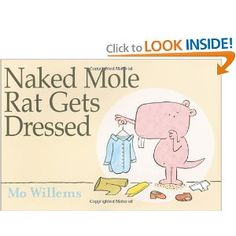 Very cute book! It's fun to check out the mole rats at the zoo and then come home and read this book.
