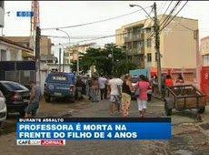 Galdino Saquarema Noticia: Professora é morta na frente do filho de 4 anos na Bahia...