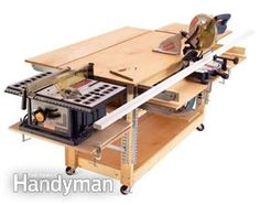 Build a rolling workbench  plans to make it here  http://www.rd.com/images/offer/fh/project_plans/pdf/FH05DJA_Workbench.pdf