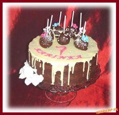 Čokoládová s cake pops
