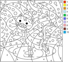 nicoles free coloring pages winter color by number