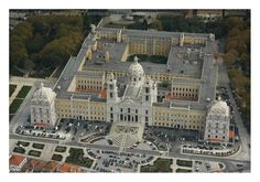 The Mafra National Palace is located in the municipality of Mafra, Lisbon district, Portugal.  001