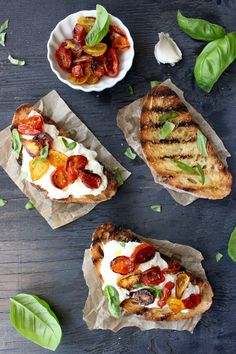 Burrata Bruschetta Recipe