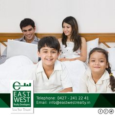 Luxurious living spaces with breathing space to your lovely family #BalramEnclave #luxuyhome Contact us at 91 9444446643/ info@eastwestrealty.in