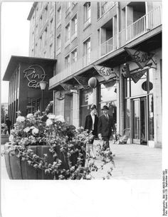Dresden, Altmarkt, Café am Ring, 1962 Dresden, Berlin, Street View, History, Ring, Antigua, Time Travel, Past, Memories