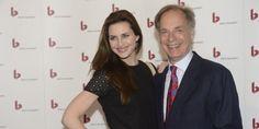 Skuespilleren Beate Bille og hendes far - også skuespiller - Joen Bille ankommer…