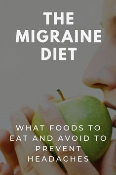 Foods for Migraine Prevention: The migraine diet is based on over 25 years of scientific research and outlines the specific foods you need to eat and avoid to prevent headaches. Food For Headaches, Foods For Migraines, Chronic Migraines, What Helps Migraines, Prevent Migraines, Headache Diet, Migraine Diet, Migraine Relief, How To Cure Migraine