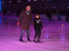 Múnich. Olimpiapark. Pista de hielo.