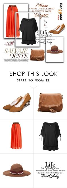 """Banggood"" by thefashion007 ❤ liked on Polyvore featuring vintage and BangGood"