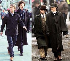 Sherlock crew at the BAFTAs: Steven Moffat, Lara Pulver, Mark ...
