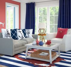 Nautical Themed Living Room Ideas Country Style Rooms Photos 296 Best Coastal Images In 2019 Charming Idea That Is Perfect For A Small Space Http