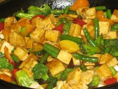 Broccoli Cashew Teriyaki Tofu Stir-Fry | Dreena's Vegan Recipes