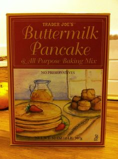 The Adventures Of Tummy: Product Review: Baking with Trader Joe's Buttermilk Pancake All Purpose Baking Mix V.S. McCann's Irish Oatmeal