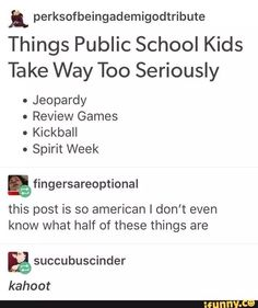 Listen up. It's story time. Last year One of my classes was pretty dang quiet. Then we would play kahoot and the… http://ibeebz.com