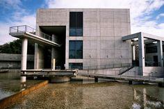 Museum of literature - Tadao Ando