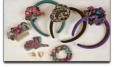 DIY Scrunchies and More  http://www.favecrafts.com/Sewing/DIY-Scrunchies-and-More/ml/1/