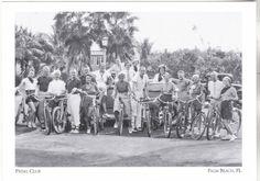 """+Postcard-""""The Pedal Club"""" -1930's- *Palm Beach Florida (#254)"""