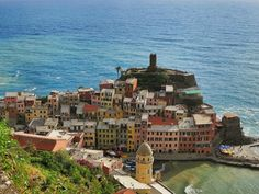 The Cinque Terre are Italy's best kept secret.  This is where you can enjoy taking things at a slower pace, explore the various villages and take in the beautiful views. Follow the link to see more original pics:  http://mikestravelguide.com/vernazza-italy/
