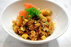 Arroz Chaufa - Peru has a rich heritage of Chinese food that combines with traditional Peruvian ingredients. Arroz Chaufa representas that variation in Peruvian gastronomy.