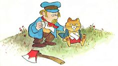 Vintage Kids' Books My Kid Loves: The Fat Cat