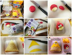 Angry Bird Lunch - Chuck and Red