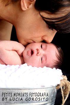 Bebé Martina con mami.