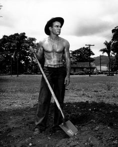 """Montgomery Clift in the film, """"From Here to Eternity"""". Clift was a brilliant actor, often haunted by personal demons. His acting style is often compared to that of Marlon Brando. Hollywood Men, Hooray For Hollywood, Golden Age Of Hollywood, Vintage Hollywood, Hollywood Stars, Classic Hollywood, Hollywood Icons, Divas, From Here To Eternity"""