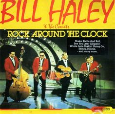 Bill Haley and the Comets. Can't stop listening. 50s Music, Bill Haley, Rock Around The Clock, Good Ole, Golden Age, Album Covers, Rock And Roll, Growing Up, America