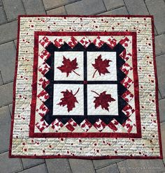 Each year the Crocus Quilter's Guild here is Dauphin, MB has a challenge. Normally we are given 3 fat quarters and can making anything. Quilt Block Patterns, Pattern Blocks, Quilt Blocks, Canada Day Flag, Canada 150, Paper Piecing, Canadian Quilts, Quilts Canada, Quilt Of Valor