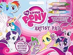 Alligator Books My Little Pony Artist Pad Alligator Books http://www.amazon.co.uk/dp/0857261266/ref=cm_sw_r_pi_dp_99NVvb0EJ9WGX