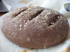 German Dark Rye Bread. I love this recipe.   I add all the items to the bread maker, ordered from wet to dry according to machine instructions and use the dough setting. With final bake in the oven.