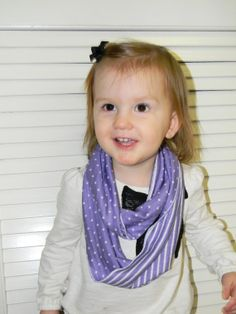 Toddler Girl Knit Reversible Lavender/Purple with by JessMDesigns, $7.00