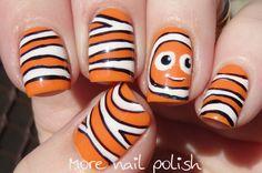 31DC2014 Day 02: Orange - Nemo Nails ~ More Nail Polish