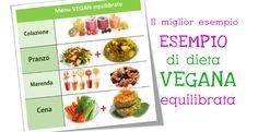 Il miglior esempio di dieta vegana equilibrata