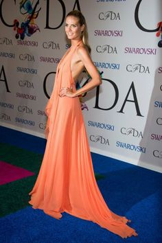 Heidi Klum at the 2014 CFDA Fashion Awards