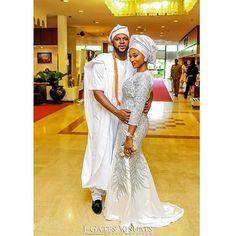 They sure look good together.  @2706events #wedding #bride #groom #yorubacouple #yorubawedidng