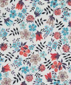 Liberty Art Fabrics Edenham K Tana Lawn | Fabrics by Liberty Art Fabrics | Liberty.co.uk