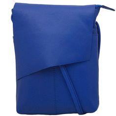 Leather Rawhide Crossbody Bag by ILI Inc.