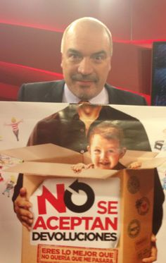 Carlos Puig también jugó a No se aceptan devoluciones