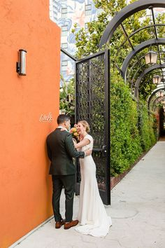 Hotel Figueroa Wedding Photos | Colorful Los Angeles Wedding Photos | California wedding photos all the way from Palm Springs to San Francisco. Get all the inspo for your Downtown Los Angeles wedding on my boards ✨ #losangelesweddingphotos #hotelfigueroa #hotelfigueroawedding Source: Cheers Babe Photo | Los Angeles California Wedding Venues, Best Wedding Venues, Royal Films, Candid Wedding Photos, Wish Dresses, Pure Fun, Brilliant Earth, Southern California, Palm Springs