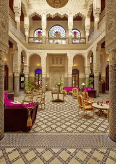 The Riad Fes in Fès / فاس in Morocco www.mediteranique.com/hotels-morocco/fes/riad-fes/