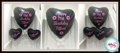 Personalised Jumbo and standard 18 inch Foil Balloons