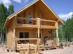 Resultado de imagem para log house plans