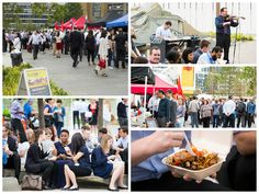 World Food Market - Platform Ruskin Square - 2014 - Part of the team that organised and run weekly lunchtime food markets.