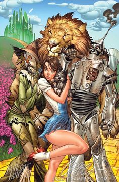 J Scott Campbell - Fairytale Fantasies The Wizard of Oz