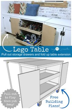 A Lego Table for the