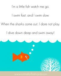 Fun preschool songs to familiar tunes school ideas for Little fish song