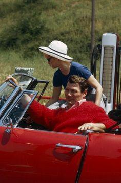 Brigitte Bardot and Jack Palance - Le Mepris (JL Godard, 1963)