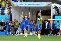 Veja as fotos da partida inaugural da Copa do Mundo no Brasil (© Vipcomm)